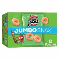 Apple Jacks Jumbo Snax Snacking Cereal