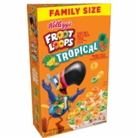 Kellogg's Froot Loops Tropical Fruit Cereal