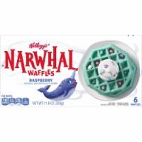 Kellogg's Mermaid Blue Raspberry Waffles - 6 ct / 11.6 oz