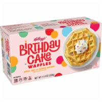 Kellogg's Birthday Cake Waffles - 6 ct / 11.6 oz