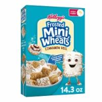 Kellogg's Frosted Mini Wheats Cinnamon Roll Breakfast Cereal - 14.3 oz