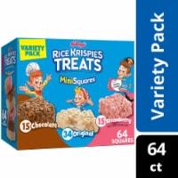 Rice Krispies Treats Crispy Marshmallow Mini Squares Variety Pack - 64 ct / 0.39 oz