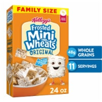 Kellogg's Frosted Mini-Wheats Breakfast Cereal Original Family Size