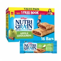 Kellogg's Nutri-Grain Soft Baked Breakfast Bars Apple Cinnamon Value Pack