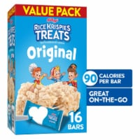 Kellogg's Rice Krispies Treats Marshmallow Squares Original Value Pack