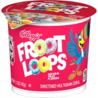 Kellogg's Froot Loops Breakfast Cereal in a Cup Original