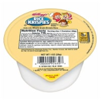Kelloggs Rice Krispies Whole Grain Cereal, 1 Ounce -- 96 per case. - 96-1 OUNCE