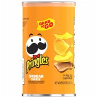 Pringles Cheddar Cheese Grab and Go Potato Crisps - 12 ct / 2.5 oz