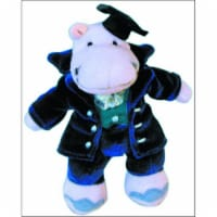 Alfred 00-18792 Music for Little Mozarts- Plush Toy- Professor Haydn Hippo - Music Book