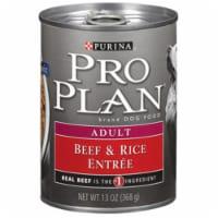 Purina Pro Plan Savor Beef & Rice Adult Wet Dog Food, 13 Oz. 381707 - 13 Oz.