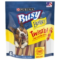 Busy Bone with Beggin' Twist'd Dog Treats - 21 oz