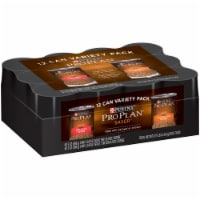 Purina Pro Plan Savor Variety Chicken and Beef Pate Dog Food 13 oz. - Case Of: 1; - Count of: 1