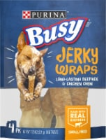 Busy Beefhide & Chicken Chew Jerky Wraps