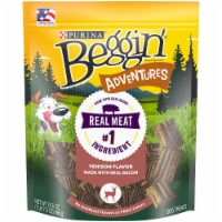 Beggin' Adventures Venison Flavor Dog Treats