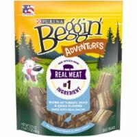 Beggin' Adventure Turkey Duck & Quail Flavored Dog Treats