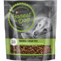 Honest to Dog Beef Recipe with Accents of Blueberries Dog Treats