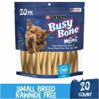 Busy Bone Mini Long-Lasting Chew Small Dog Treats 20 Count