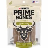 Purina Prime Bones Chew Stick with Wild Venison Small Dog Treats - 4 ct / 9.7 oz