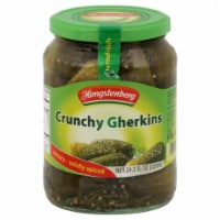 Hengstenberg Savory-Mildly Spiced Crunchy Gherkins Pickles - 24.3 fl oz