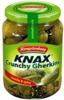 Hengstenberg Knax Crunchy & Spicy Gherkins Pickles - 24.3 oz