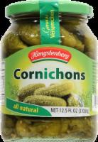 Hengstenberg All Natural Cornichons Pickles - 12.5 fl oz