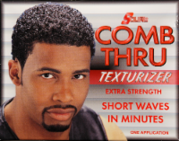 Lusters S-Curl Comb Through Texturizer