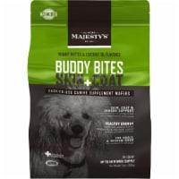 Majestys MBBSC28 Buddy Bites Skin & Coat, Original Formula Peanut Butter - 28 count - 28