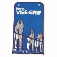 Irwin Vise-Grip Locking Plier Sets,Plain Grip,3 Pcs  73 - 1