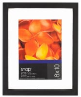 Pinnacle Snap 8 x 10 Float Picture Frame - Black - 1 Count