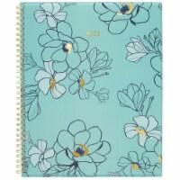 Cambridge® 2021 Floral Large Planner - Blue