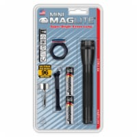 Mini Maglite AA Flashlights, 2 AA, Black, Combo Pack
