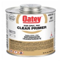 Oatey Clear Primer,32 oz.  30753 - 1