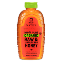 Nature Nate's Organic Raw & Unfiltered Honey
