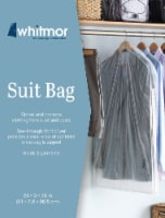 Whitmor Suit Bag - Clear