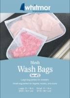 Whitmor Mesh Laundry Bags - White