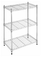 Whitmor Supreme 3-Tier Shelf - Chrome