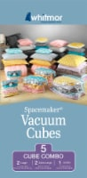 Whitmor Clear Spacemaker Vacuum Cubes