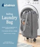 Whitmor Rolling Laundry Bag