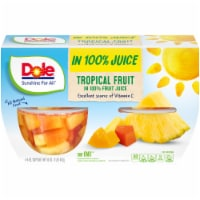 Dole Tropical Fruit Cups in 100% Fruit Juice