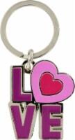 Hillman Love Metal Keychain
