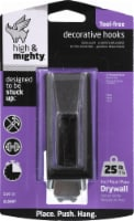 High & Mighty 25-Pound Rectangular Decorative Hook - Oil Rubbed Bronze