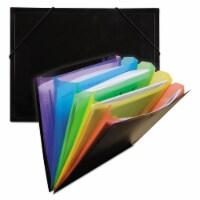 Rainbow Document Sorter, Black/Multicolor - 1