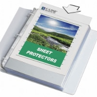 C-Line Products Specialty Sheet Protector,PK50  62607 - 1