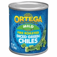 Ortega Fire Roasted Diced Green Chiles