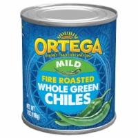 Ortega Fire Roasted Whole Green Chiles - 7 oz