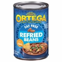 Ortega Fat Free Refried Beans - 16 oz