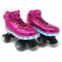 Chicago Skates CRS710-07 Girls Sidewalk Light-Up Skate, Pink - Size 7 - 1