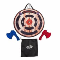 NSG JS7000 Axe Throwing Target Game - Multi Color - 1