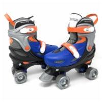 Chicago Skates CRS225-SM Boys Adjustable Junior Quad Small Skate, Blue & Black - Size 10-13 - 1