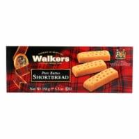 Walkers Shortbread - Pure Butter Fingers - Case of 12 - 5.3 oz. - 5.3 OZ